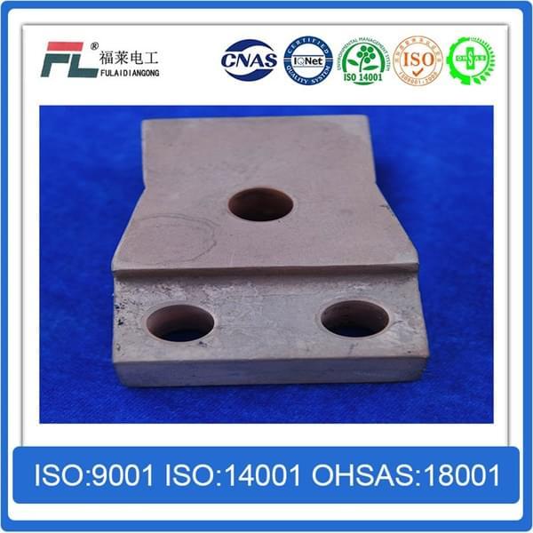 铜钨合金屏蔽材料导电夹